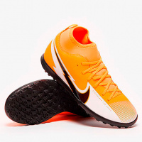 Детские сороконожки Nike Kids Mercurial Superfly VII Club TF AT8156-801 AT8156-801