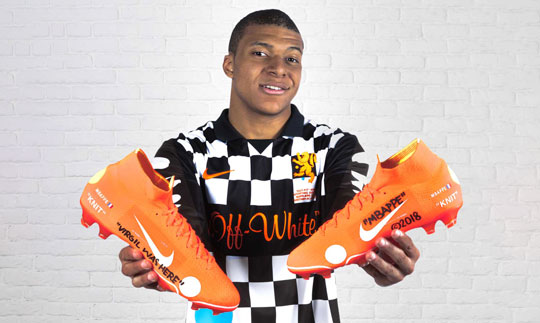 Kylian Mbappé (Килиан Мбаппе) Nike Mercurial Superfly