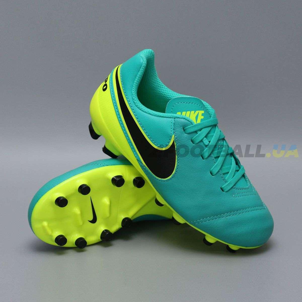Детские бутсы Nike JR TIEMPOX LEGEND VI FG КОЖА - Bermuda   819186-307 78168b7674f