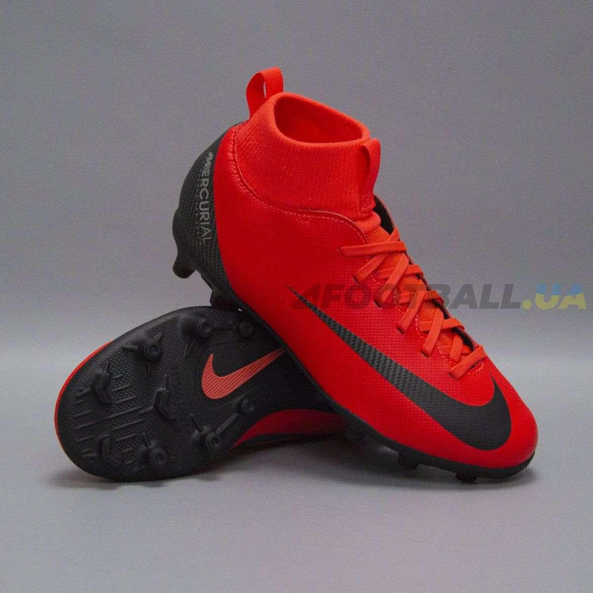 Детские бутсы Nike Mercurial SUPERFLY CLUB CR7 FG MG AJ3115-600 b5c6aa3f72ab7