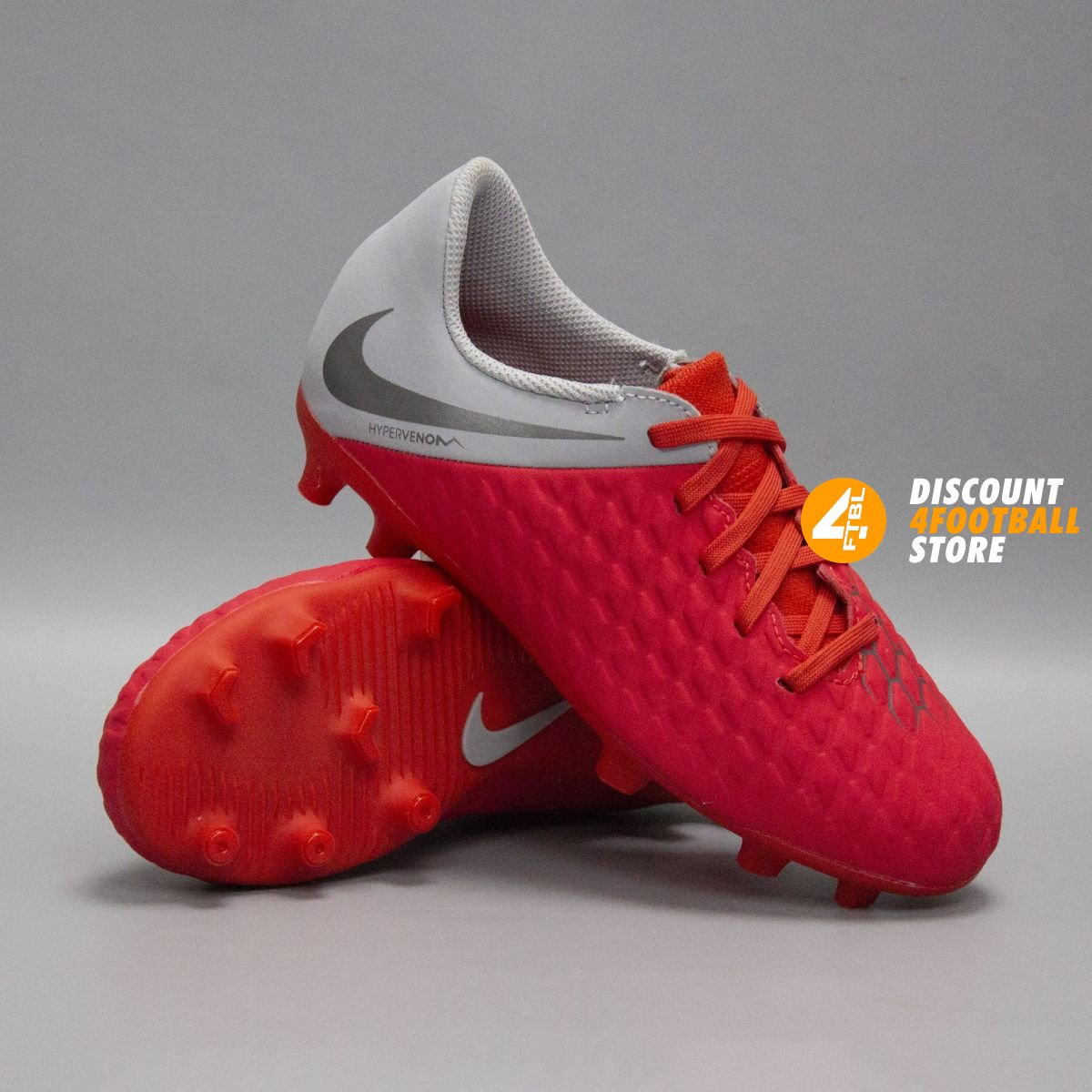 Детские футбольные бутсы Nike Hypervenom Сlub FG AJ4146-600 5b0d692e70950