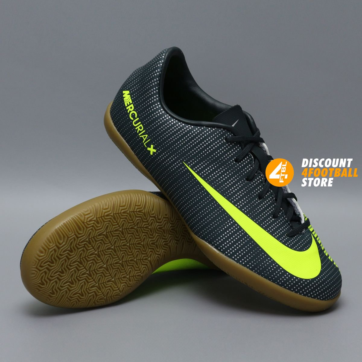 Детские футзалки Nike Ronaldo CR7 JR MERCURIALX VAPOR XI IC   852488-376 8ff71f11e0a