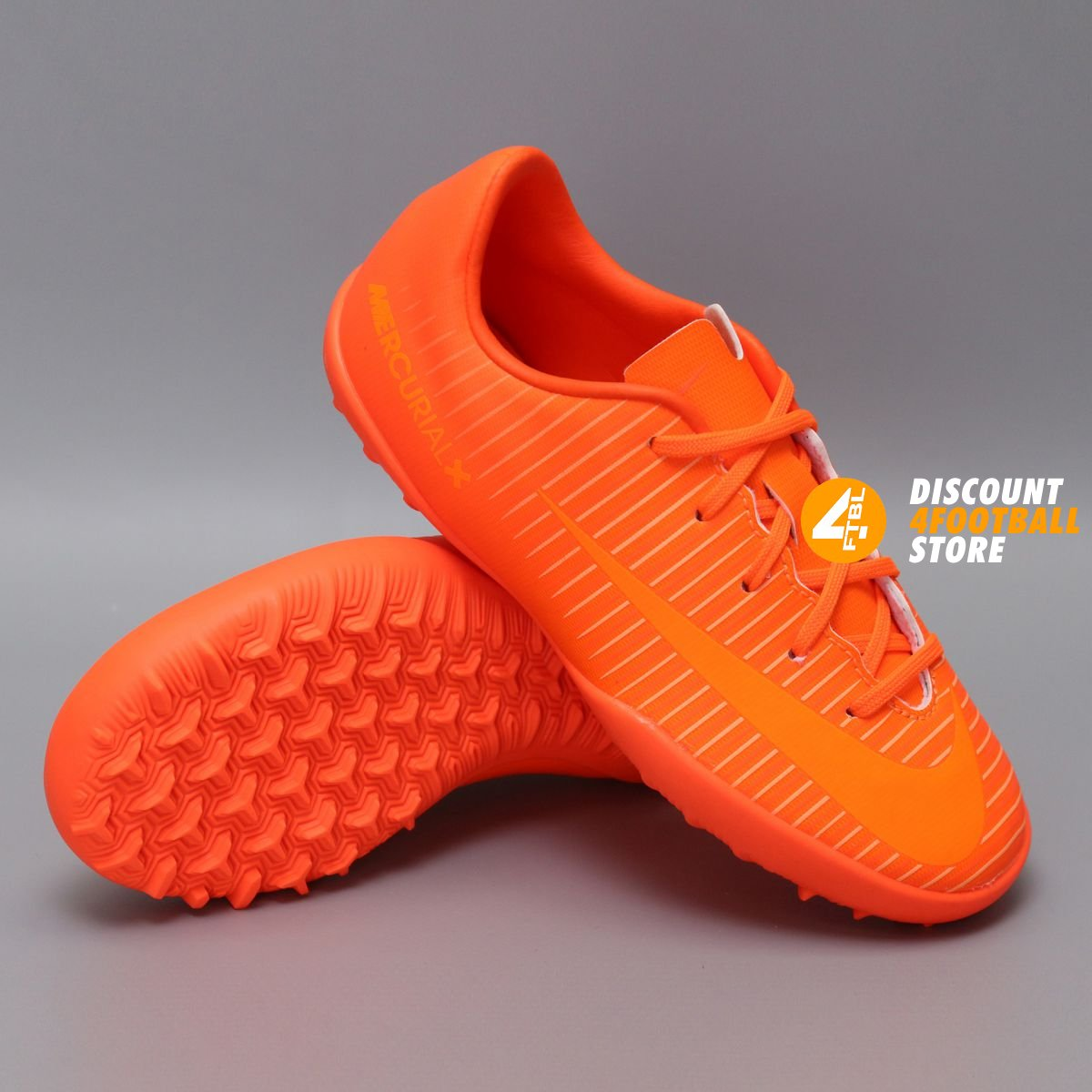 df987b51af49 Детские сороконожки Nike JR MERCURIALX VAPOR XI TF   Total Orange    831949-888