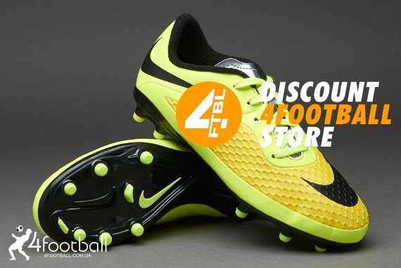 c9a4b7d0 🥇 Детские бутсы Nike Hypervenom Phelon FG (Brazil) купить у ...