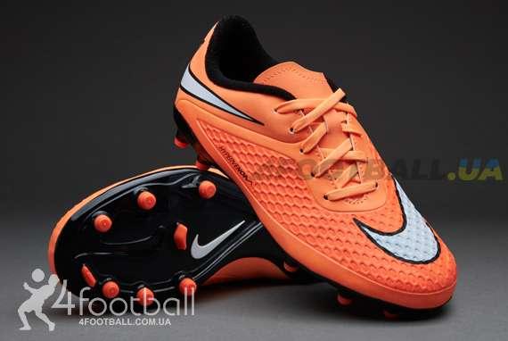 10f413fe Детские бутсы Nike Hypervenom Phelon FG (ORANGE) купить на 4football ...