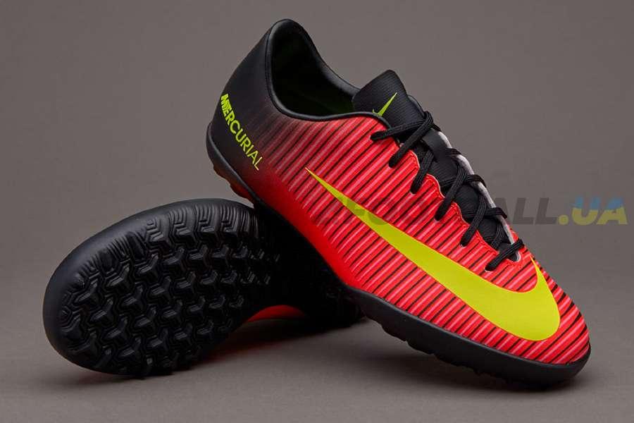 Детские сороконожки Nike JR MERCURIALX VAPOR XI TF - Cherry   831949-870 ... 307e8b6116f