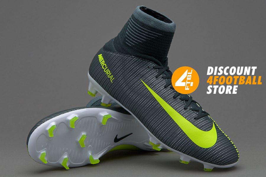 c06d34bf Детские бутсы Nike Ronaldo CR7 JR MERCURIAL SUPERFLY V FG | 852483-376 ...