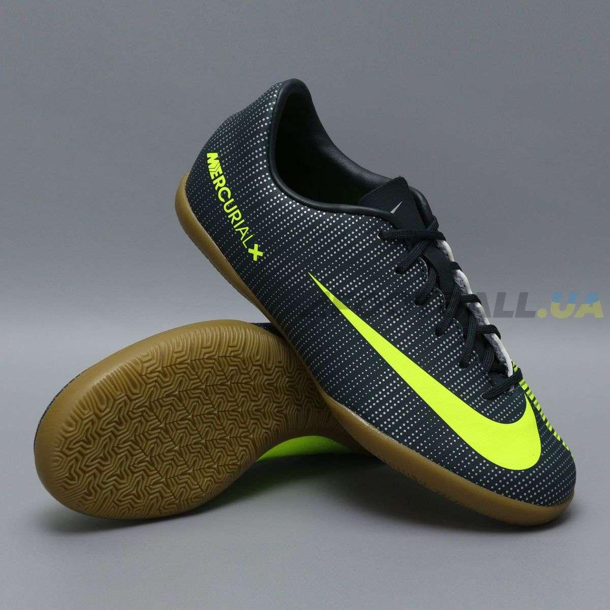 3a9627f250720f Детские футзалки Nike Ronaldo CR7 JR MERCURIALX VAPOR XI IC | 852488-376 ...