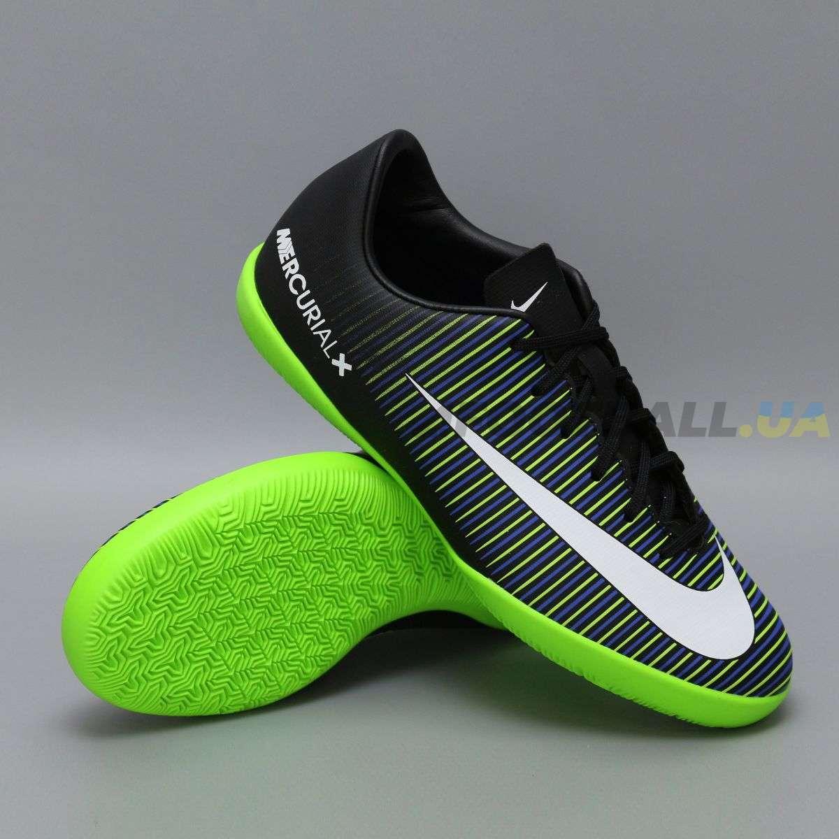 8966c4b274be Детские футзалки Nike JR MERCURIALX VICTORY XI IC   831947-013   Stealth ...