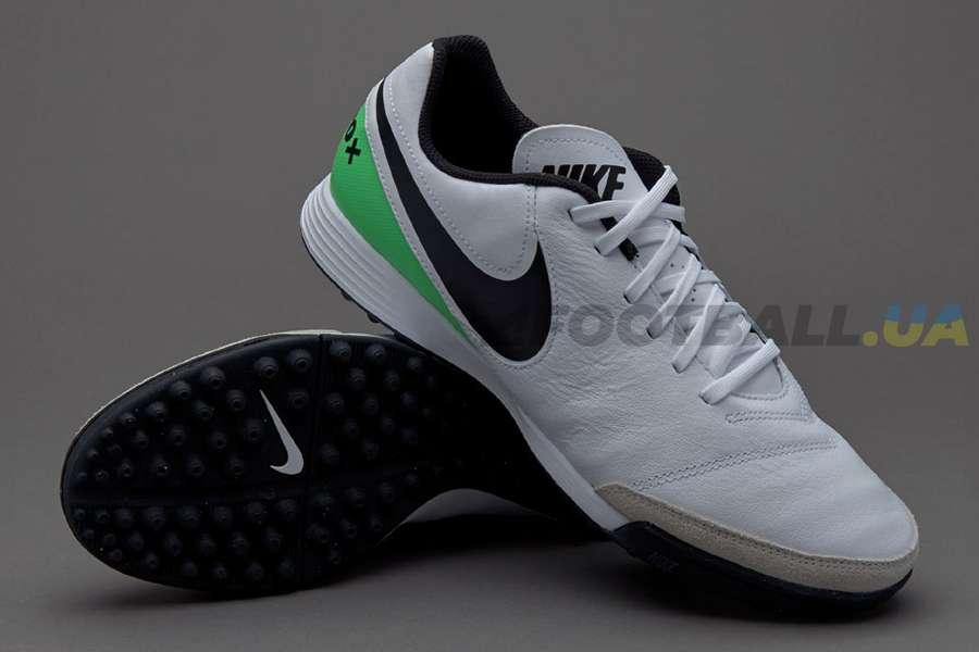 the best attitude 755ce 97e64 Сороконожки Nike TIEMPOX GENIO II TF 819216-103 White ...