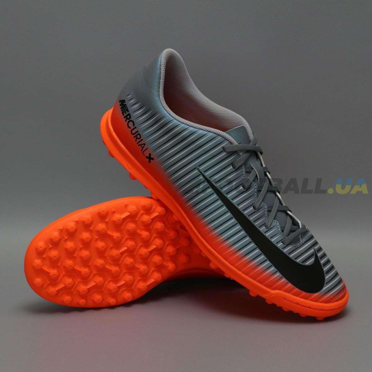 04c5d498 Сороконожки NIKE MERCURIALX VORTEX III CR7 TF 852534-001 купить на ...