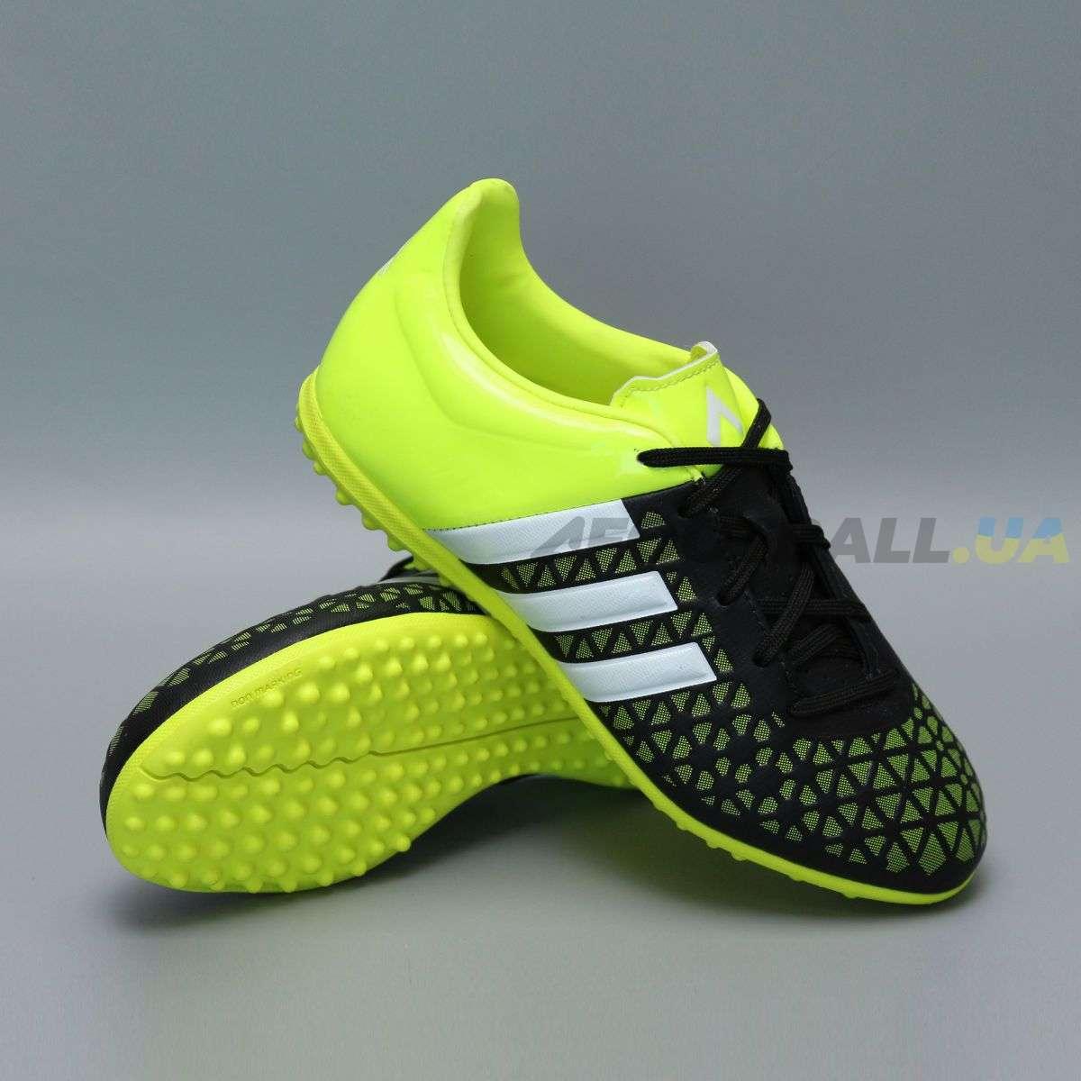 online retailer c8a6f a5242 Детские сороконожки ADIDAS ACE 15.3 TF B27035 JR black ...