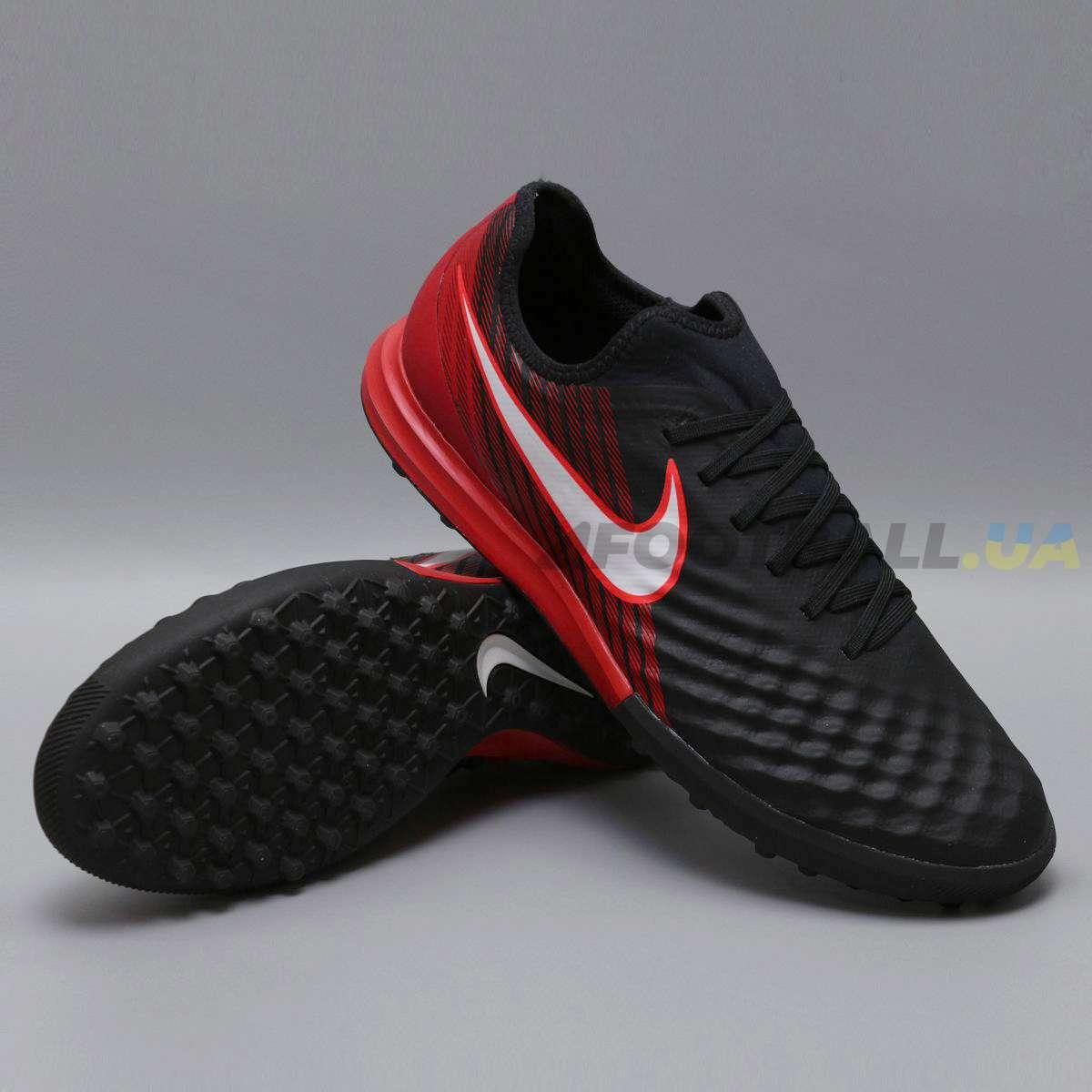 abe96e7e Сороконожки NIKE MAGISTAX FINALE II TF 844446-061 black-red купить ...