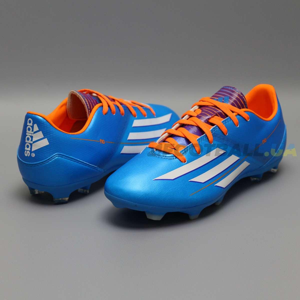 2f630e47 Бутсы ADIDAS F10 TRX FG D67146 blue купить у надежного магазина в ...