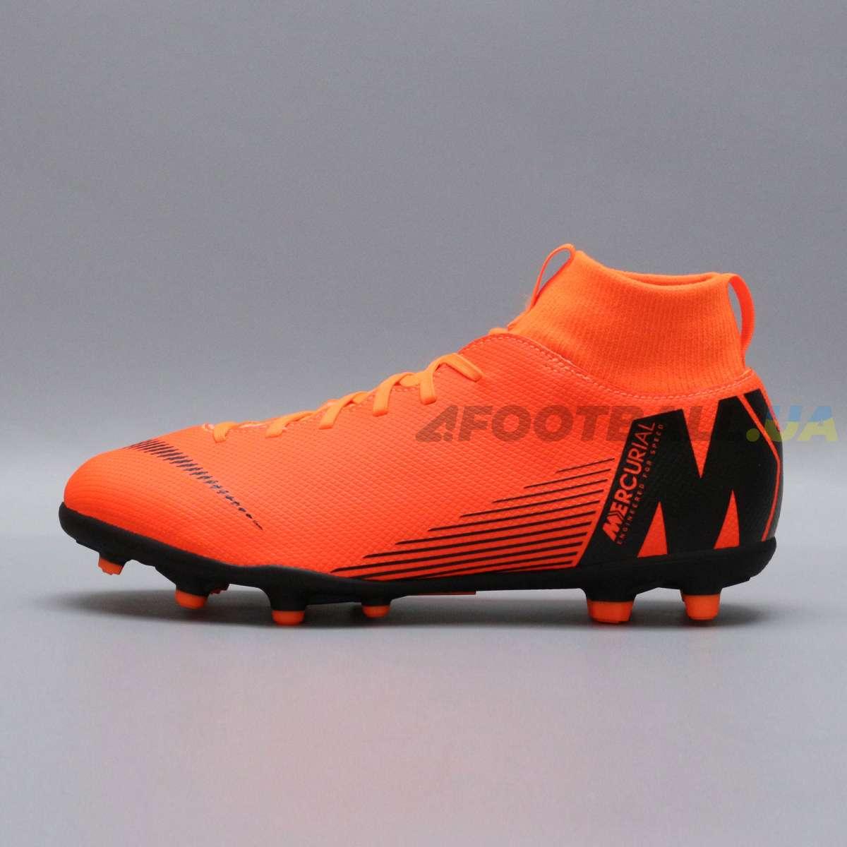 5d7b5bb6 Детские бутсы Nike Mercurial SUPERFLY CLUB AH7339-810 купить на ...
