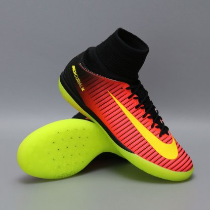 Детские футзалки Nike jr Mercurial X SuperFly Proximo 2 IC - Cherry | 831973-870