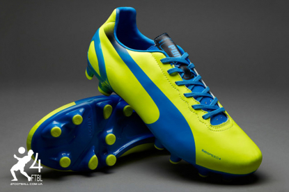 Футбольные бутсы Puma evoSpeed 4.2 FG - Lemon | 102868 06 | 4football.com.ua
