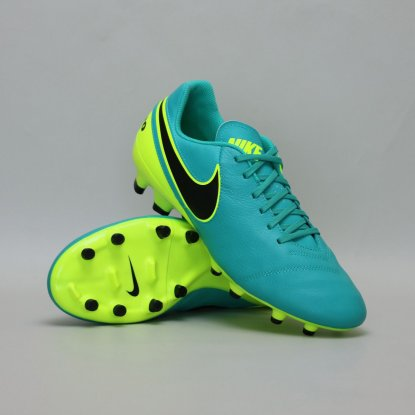 Футбольные бутсы Nike Tiempo GENIO II Leather FG - Bermuda | 819213-307 | 819213-307 | 4football.com.ua