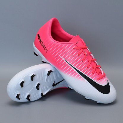 Детские бутсы NIKE MERCURIAL Victory VI FG 831945-601 CHERRY | 831945-601 | 4football.com.ua