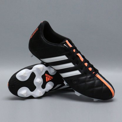 Футбольные бутсы Adidas 11Questra FG КОЖА B34124 Black | B34124 | 4football.com.ua