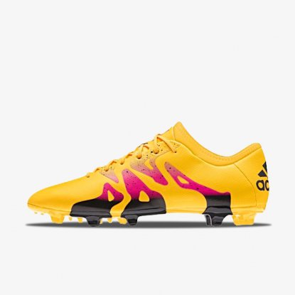 Бутсы ADIDAS X 15.2 FG/AG S74672 orange