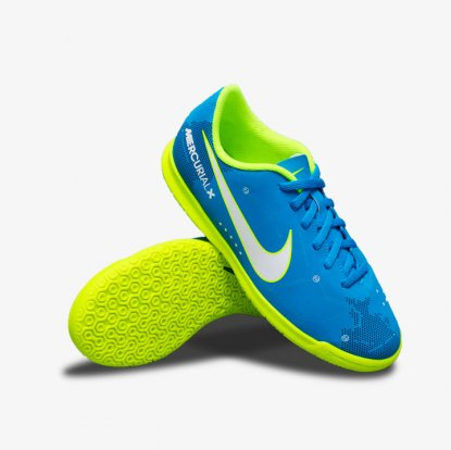 ДЕТСКИЕ ФУТЗАЛКИ NIKE MERCURIALX VORTEX NEYMAR IC 921495-400 stars | 921495-400 | 4football.com.ua