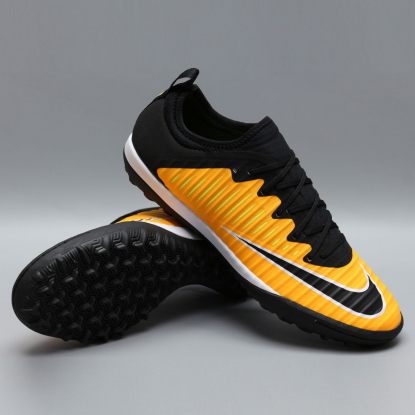 Сороконожки NIKE MERCURIALX FINALE II TF 831975-801 black-orange