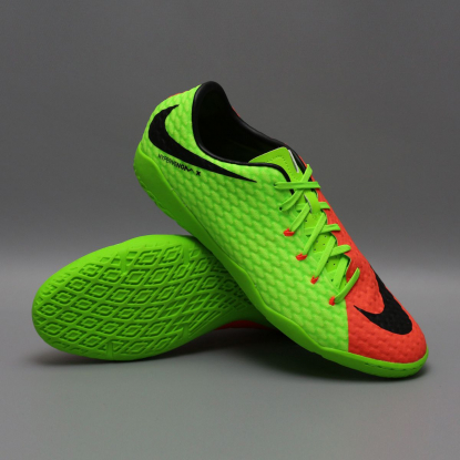 ФУТЗАЛКИ NIKE HYPERVENOMX PHELON III IC 852563-308 LIME | 852563-308 | 4football.com.ua