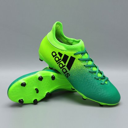 Бутсы adidas X 16.3 FG BB5855 | Ultra Lime