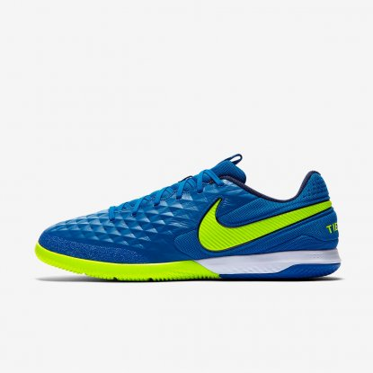 Футзалки Nike Tiempo Legend PRO React VIII IC AT6134-474 CARIBBEAN AT6134-474