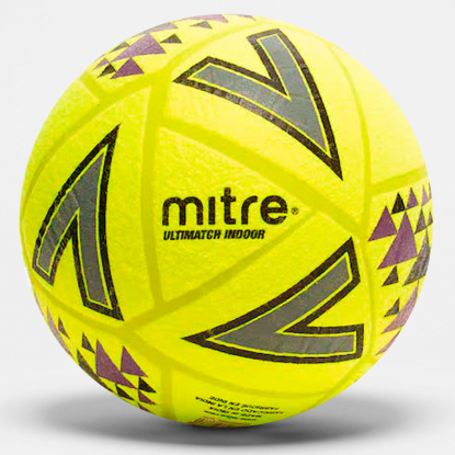Футбольний м'яч Mitre Ultimatch Indoor 5-A0026YAK 5-A0026YAK