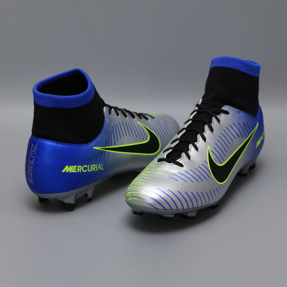 Бутсы с носком nike mercurial victory NEYMAR-R9 921506-407 Chrome|Blue  3