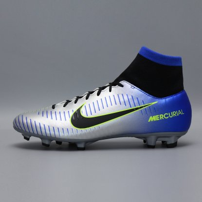Бутсы с носком nike mercurial victory NEYMAR-R9 921506-407 Chrome|Blue  5