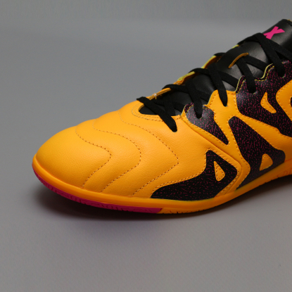 Футзалки ADIDAS X 15.3 Leather IN S74655 ORANGE  5