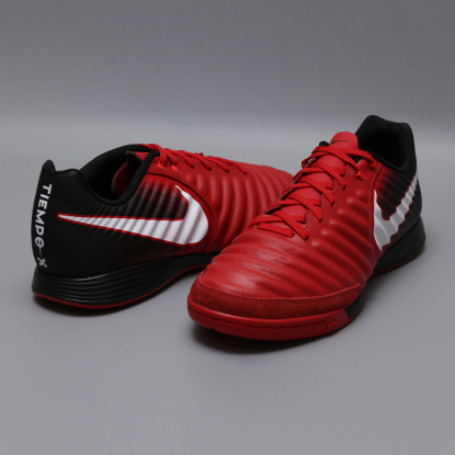 Футзалки NIKE TIEMPOX LIGERA IV IC 897765-616 black-red  3