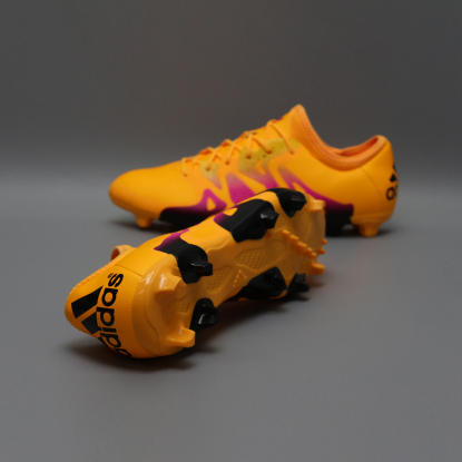 Бутсы ADIDAS X 15.2 FG/AG S74672 orange  2