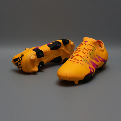 Бутсы ADIDAS X 15.2 FG/AG S74672 orange  3