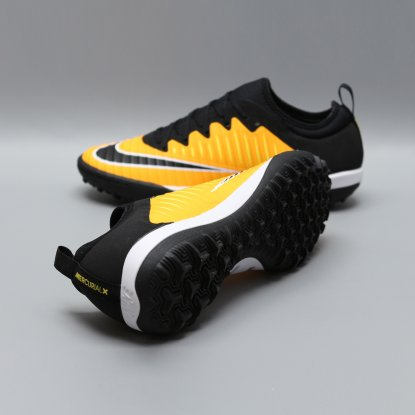 Сороконожки NIKE MERCURIALX FINALE II TF 831975-801 black-orange  4