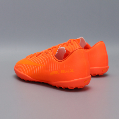 Детские сороконожки Nike JR MERCURIALX VAPOR XI TF | Total Orange | 831949-888  6