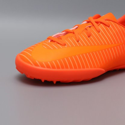 Детские сороконожки Nike JR MERCURIALX VAPOR XI TF | Total Orange | 831949-888  7