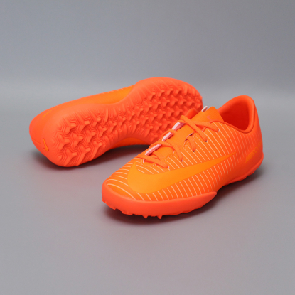 Детские сороконожки Nike JR MERCURIALX VAPOR XI TF | Total Orange | 831949-888  4