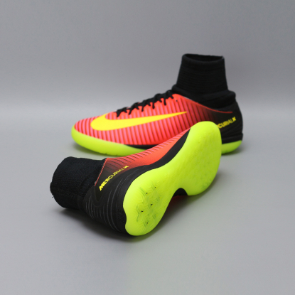 Детские футзалки Nike jr Mercurial X SuperFly Proximo 2 IC - Cherry | 831973-870 2