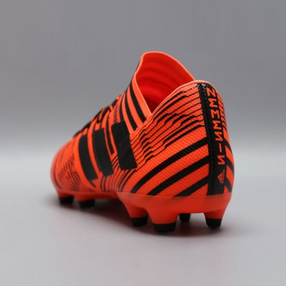 Бутсы adidas Nemeziz 17.3 S80604 black-orange  4