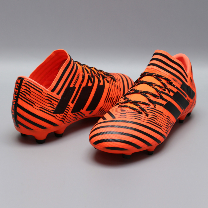 Бутсы adidas Nemeziz 17.3 S80604 black-orange  3