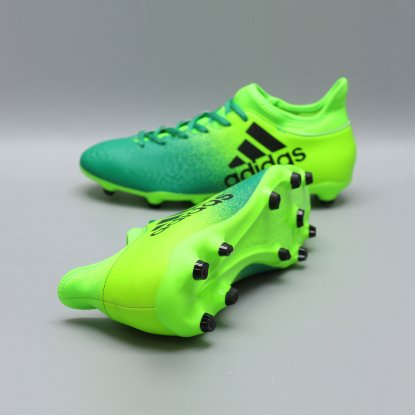 Бутсы adidas X 16.3 FG BB5855 | Ultra Lime  2