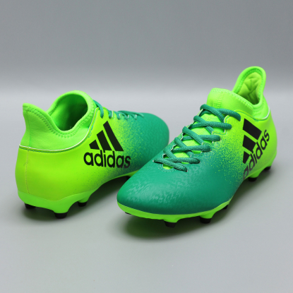Бутсы adidas X 16.3 FG BB5855 | Ultra Lime  3