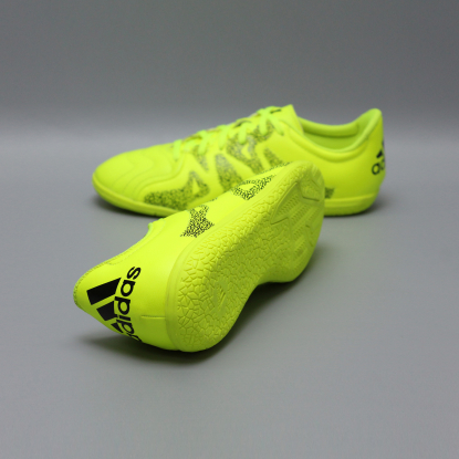 Детские футзалки ADIDAS X 15.3 IC LEATHER B33002 JR cactus  2