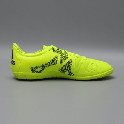 Детские футзалки ADIDAS X 15.3 IC LEATHER B33002 JR cactus  5