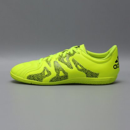 Детские футзалки ADIDAS X 15.3 IC LEATHER B33002 JR cactus  4