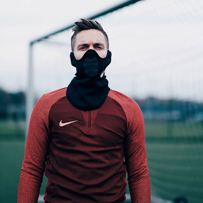 Спортивный термо шарф Nike Therma Squad Snood AQ8233-011  5